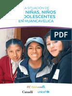 La Situación Niñas, Niños y Adolescentes en Huancavelica