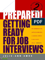 Julie-Ann Amos-Be Prepared!_ Getting Ready for Job Interviews-How to Books (2007).pdf