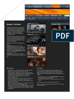 Blender 2.56 Features