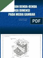 PENYAJIAN BENDA-BENDA TIGA DIMENSI-1