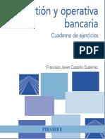 Gestión y operativa bancaria. Cuaderno de ejercicios