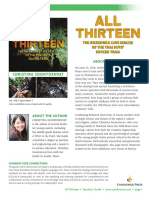 All Thirteen by Christina Soontornvat Teachers' Guide