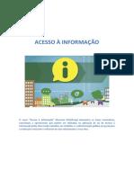Módulo II - Negativas de acesso à informação.