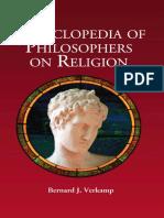 Encyclopedia Of Philosophers On Religion - Bernard J. Verkamp.pdf