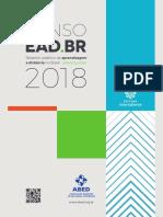BRASIL, CENSO 2018 EAD.BR Relatório analítico da aprendizagem a distância no Brasil