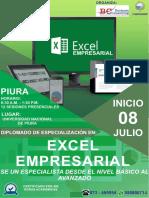 DIPLOMADO DE EXCEL EMPRESARIAL DOMINGO