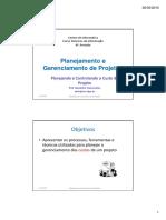 PGP-07_Gerência do Custo