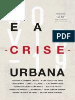 [GESP] Covid 19 e a Crise Urbana, 2020