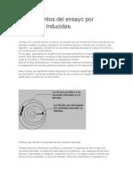 Fundamentos del ensayo por Corrientes Inducidas 1