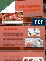 AnÁlisis bromatológico de la carne