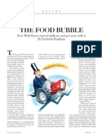 The Food Bubble