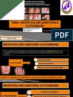 6.- Miopatias inflamatorios autoinmune