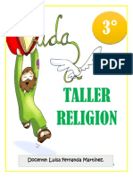 TALLER  RELIGIÓN TERCERO P