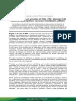 Comunicado de Prensa CC - Vuelo Humanitario VF