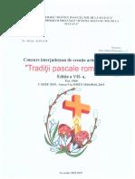 Concurs Interjudețean Tradiții Pascale Românești 2019