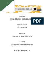 PRUEBAS Y MANTENIMIENTO UNIDAD 5