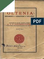 Oltenia - Cartea I