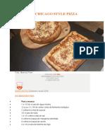 pizza estilo chicago especial