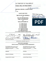 General Bill of Indictment, State of Georgia v. Travis McMichael, Greg McMichael & William R Bryan