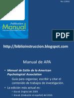 Manual de Estilo APA 3ra ed. (Español)