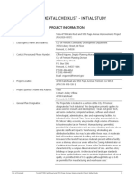 Initial Study to Addendum and Mitigated Negative Declaration