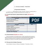 7.  TALLER - Semana 8 - Estudio Econom- Financiero (1)