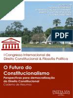 O Fututo do Constitucionalismo - Caderno de Resumos [2014].pdf