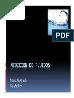 MEDICION DE FLUIDOS