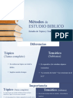 3. Métodos de estudio estudio de tema y topico