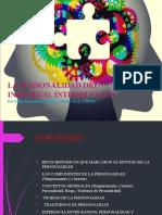 TRASTORNOS DE PERSONALIDAD, INTRODUCCION