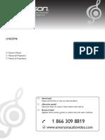 Emerson TV LF402EM6 User Manual