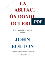 John Bolton - The Room Where It Happened_ A White House Memoir 2020 Simon Schuster VERSION ESPAÑOL
