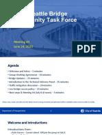 Bridge Task Force meeting #3 slides v. 1