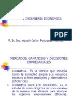 AI-424 MERCADOS, GANANCIAS Y DECISIONES