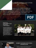 Aportes del IPN contra la pandemia del COVID-19