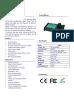 KB201 Keyboard brochure