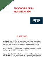 METODOS, TECNICAS INVESTIGACION