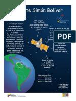 MODELO SATELITE SIMON BOLIVAR  VENEZUELA