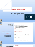 UPLA 2018-I Medicina Legal. Necropsia 20180529