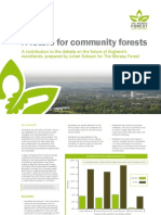 A Future for Community Forests