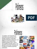 POLIMEROS. semana 11