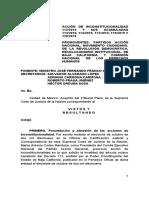 Sentencia de Amparo AI 112-2019 Y ACUMULADAS PROYECTO DE RESOLUCIÓN