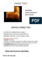 SENTIDO CUTANEO DIAPOSITIVAS KELY