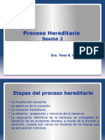proceso hereditario