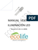 Manual Ventas Led Eco Life 1.1