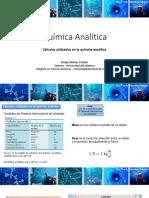 Química Analítica - 2 - Calculos usados en Qca. A.