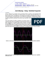 The Basics of Anti-Aliasing - Using Switched-Capacitor Filters (Maxim Integrated Tutorials-switched cap).doc