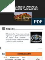 HIDROCARBUROS  SAT. INSAT y AROMAT.