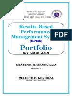 rpms portfolio (deped design)