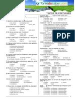 Testes de Portugues
